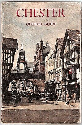 Chester Official Guide 1950 - Vintage Guide to the City - 23rd Edition
