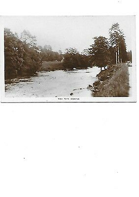 DEANSTON Stirlingshire River Teith RP Early Postcard