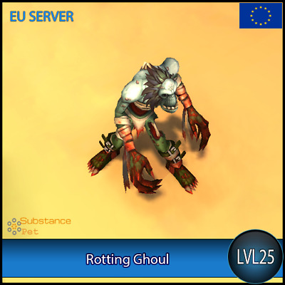 Rotting Ghoul lvl25 Pet BFA | All Europe Server | WoW Warcraft Loot