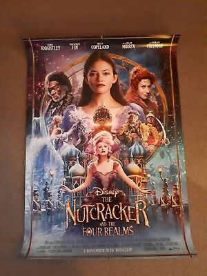 the Nutcracker and the four realms European one sheet Poster ORIGINAL DS