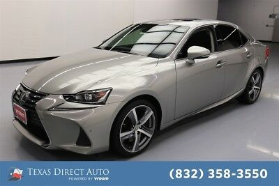 2017 Lexus IS  Texas Direct Auto 2017 Used Turbo 2L I4 16V Automatic RWD Sedan Premium
