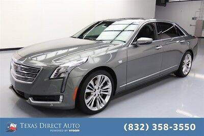 2017 Cadillac CT6 Platinum AWD Texas Direct Auto 2017 Platinum AWD Used Turbo 3L V6 24V Automatic AWD Sedan
