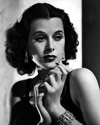 1938 Movie Film Actress HEDY LAMARR Glossy 8x10 Photo 'Algiers' Print Poster