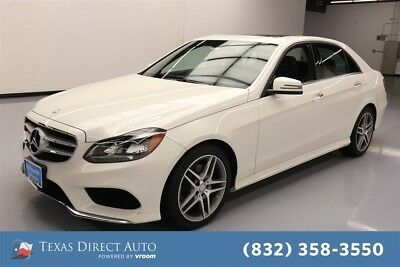 2016 Mercedes-Benz E-Class E 350 4MATIC Texas Direct Auto 2016 E 350 4MATIC Used 3.5L V6 24V Automatic AWD Sedan Premium