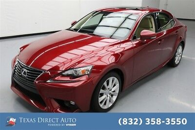 2015 Lexus IS 4dr Sedan Texas Direct Auto 2015 4dr Sedan Used 2.5L V6 24V Automatic RWD Sedan Premium