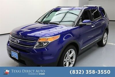 2015 Ford Explorer Limited Texas Direct Auto 2015 Limited Used 3.5L V6 24V Automatic 4WD SUV