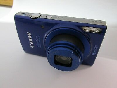 Canon PowerShot ELPH 190 IS Digital Camera 10x Optical Zoom 20MP with WiFi BLUE