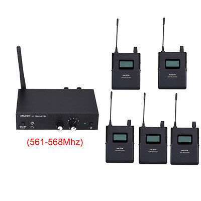 ANLEON S2 Wireless Stereo In-ear Monitor System Stage UHF Clear Sound 561-568Mhz