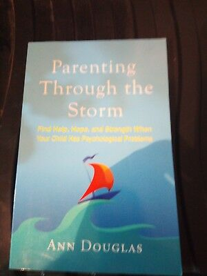 Parenting through the storm paperback book in good condition