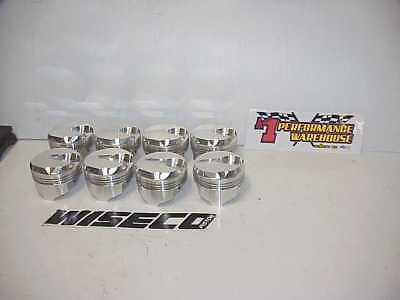 "8 NEW  Wiseco BB Chevy Forged Dome Pistons  4.440"" Bore 1.480"" CH- .990""  W93"