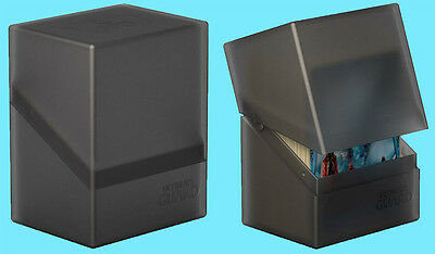 ULTIMATE GUARD BOULDER ONYX Standard Size DECK CASE 80+ NEW Card Storage Box MTG