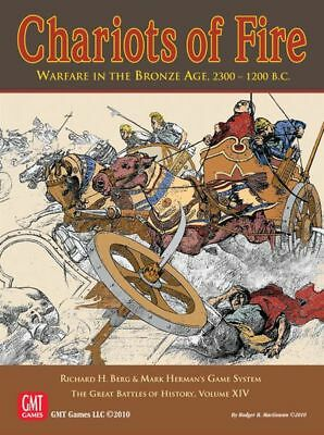 Cariots of Fire - GBoH Vol XIV - GMT - New in Shrink