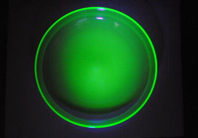 A Large Modernist Webb Uranium Glass Bowl