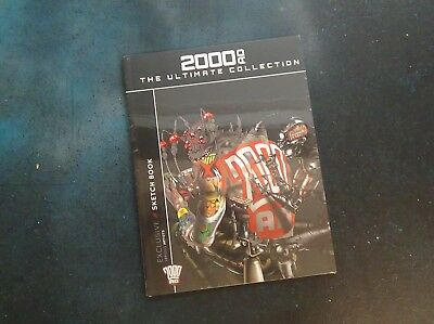 Sketch Book - 2000AD Ultimate Collection - New/Sealed - HB