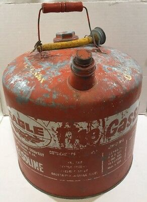 Eagle 5 Gallon The Gasser 505 Verzinkt Metall Gas Benzin Dosen Vintage Dekor Us