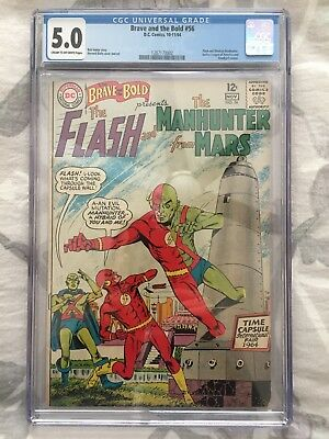 the Brave and the Bold #56 CGC 5.0 (1964 DC)