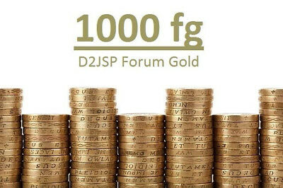 1000 d2jsp Forum Gold