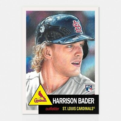 2018 Topps Living Set 120 Harrison Bader (Rc)