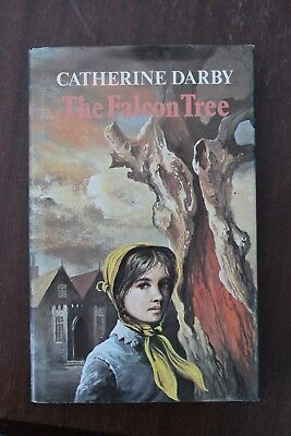 Catherine Darby - The Falcon Tree -1st Ed 1977 - R/Hale - File Copy