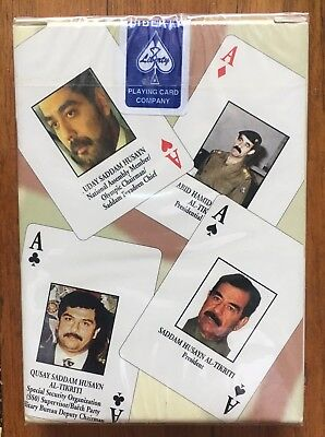 Iraqi Most Wanted Playing Cards ~ Liberty Brand Texas ~ The Real Deal! Nice !