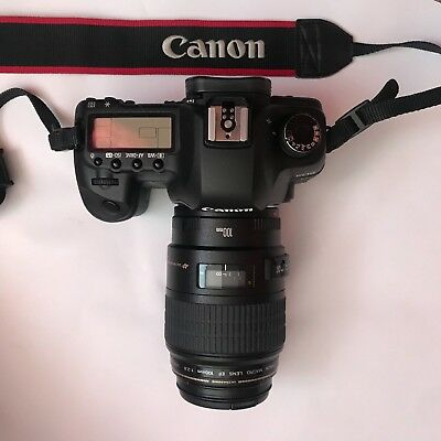 Canon EOS 5D Mark II EOS Camera with Lens 100mm