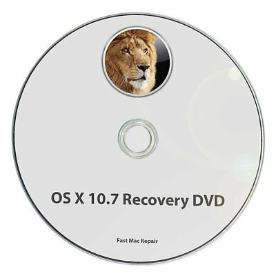Mac OS X 10.7 Install Disc Lion Installer Recovery Upgrade OSX System DVD CD