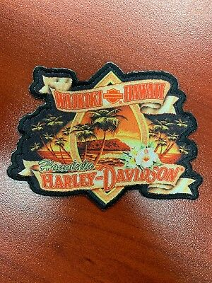 New Sew-On Harley Davidson Patch