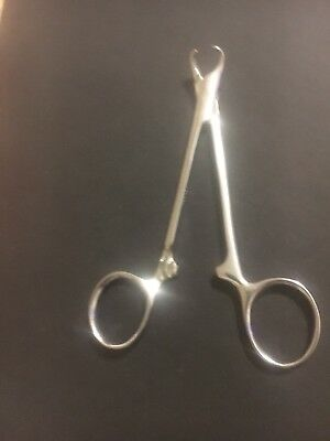 Antique Vintage Medical Surgical Instrument: Scissors Or Tweezers Or Clamp.  P52