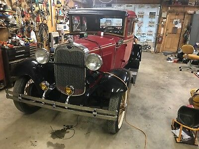 1930 Ford Model A Coupe antique cars