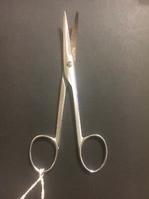 Antique Vintage Medical Surgical Instrument: Scissors Or Tweezers Or Clamp.  P58
