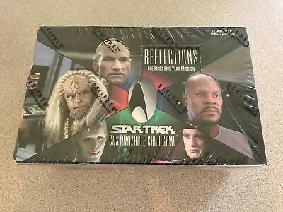 Star Trek Ccg Reflections Booster Box Sealed