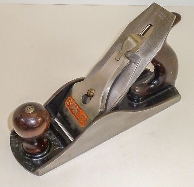 Stanley No. 4 1/2 Smooth Plane--War Production Model