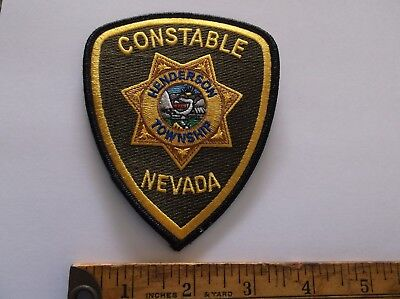 Henderson NV Constable patch