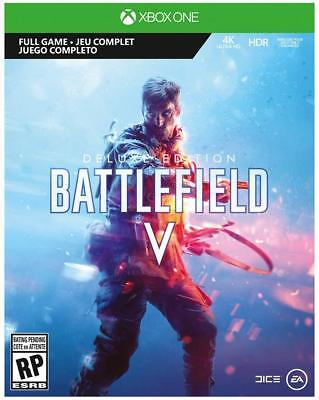 Xbox One Battlefield V Deluxe Edition Digital + 1 month EA access Card NEW