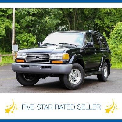 1997 Toyota Land Cruiser 220K FJ80 4WD CARFAX Serviced 3rd Row Seat Rare! 1997 Toyota Land Cruiser 220K FJ80 4WD CARFAX Serviced 3rd Row Seat Rare!