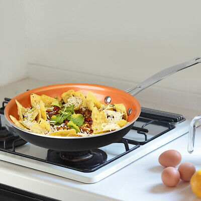 Kupferberg 28cm Ceramic Copper Non-Stick Induction Frying Pan Dishwasher Oven