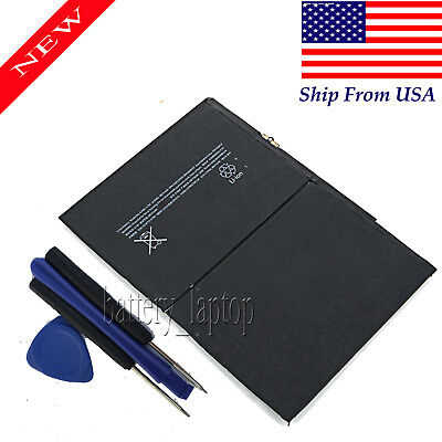 New 8827mAh Internal Battery Replacement for iPad 5 Air A1484 A1474 1475 + Tools