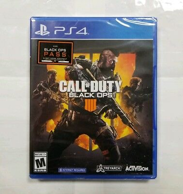 "Call of Duty: Black Ops 4 (Sony PlayStation 4, 2018) ""NEW/SEALED"""