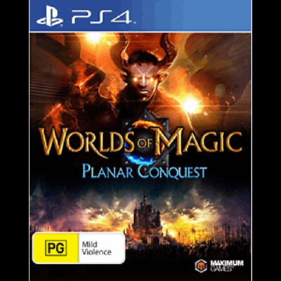 Worlds of Magic: Planar Conquest (PS4) NEW *FAST POST*