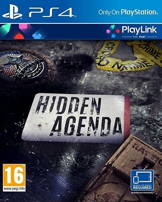 Hidden Agenda Crime Thriller (PS4) NEW *Cheapest*