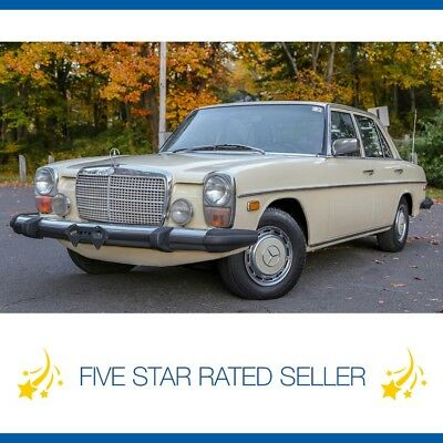 1975 Mercedes Benz 300-Series Collectible W115.114 Washington State Diesel 1975 Mercedes 300D  Diesel Rare Collectible W115.114 Washington State!
