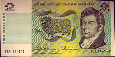 $2 NOTE:  COOMBS and RANDALL  CRISP and GOOD AVERAGE  and NO RESERVE