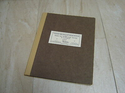 1926 Teddy Bear and Other Songs - When We Were Very Young A A Milne Pooh 1st Edn