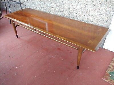 Vintage Lane Surfboard Coffee Table  Mid Century Modern MCM #0900-01