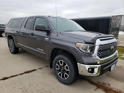 2018 Toyota Tundra SR5 2018 Toyota Tundra SR5 Double Cab FFV with ARE Topper, bedliner and bug sheild.
