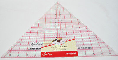 Patchwork Ruler 8in x 9.25in Triangle Sew Easy NL4174