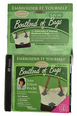 Embroidery It Yourself Boatload of Bags CD EIY0040DS