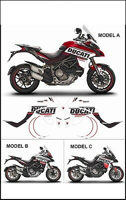 kit adesivi stickers compatibili  MULTISTRADA 1260 2018 TRIBUTE