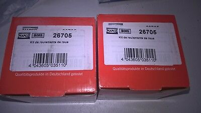 LOT DE 2  ROULEMENT AUTO Mapco 26705