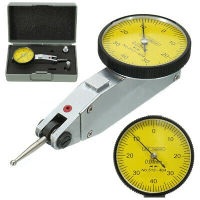 Dial Gauge Test Indicator Precision Metric with Dovetail Rails Kit 0-40-0 0.01mm